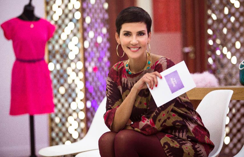 Cristina Cordula, modelo y consultora de moda, conduce 'Las reinas del shopping'