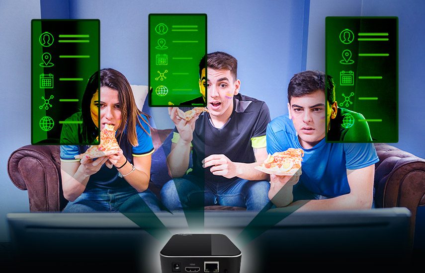 El estudio de Ace Metrix reveló que el 61% de los consumidores con una marca específica de Smart TV no estaba seguro si su dispositivo de televisión reunía datos sobre sus hábitos de visualización. (Foto: Freepik)