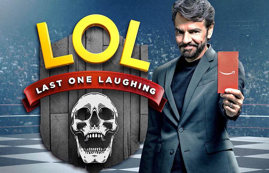 """De las series Prime Original de México que volverán en 2019, está """"LOL: Last One Laughing"""", presentado por el actor y comediante Eugenio Derbez."""