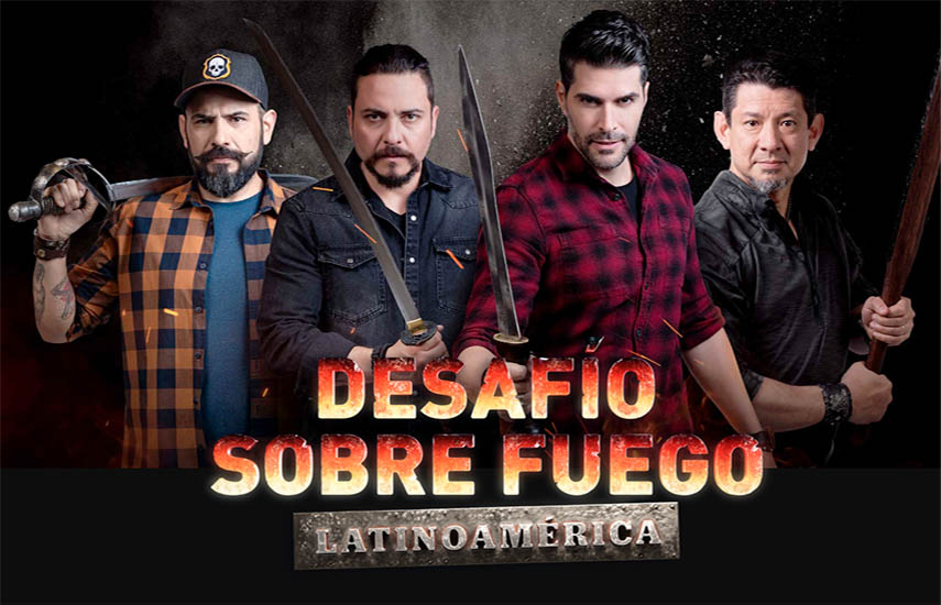 Desafío sobre el Fuego Latinoamérica II: El súper estreno