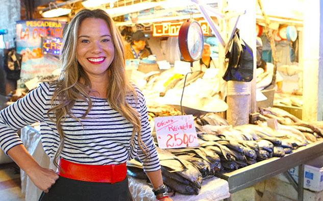 """En """"Destino con Sabor"""", Grace Ramírez descubre la diversidad de la cocina latinoamericana"""