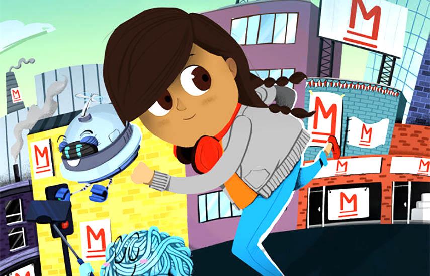 Actualmente, la propiedad intelectual de BLL está centrada en Detective Dot, una serie de historias que busca eludir los estereotipos tradicionales en torno a la ingeniería, la ciencia y la tecnología.