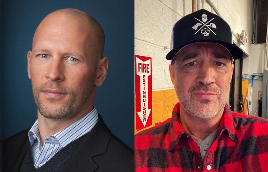 Dirk Hoogstra, CEO de Half Yard Productions, y Christo Doyle, fundador de Public School Productions