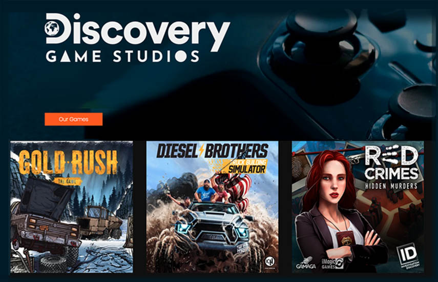 La lista actual de títulos ya lanzados son: Gold Rush: The Game, Diesel Brothers: Truck Building Simulator, Red Crimes, Wheeler Deals, Street Outlaws y Discovery #MINDBLOWN - Space Mechanics Simulator.