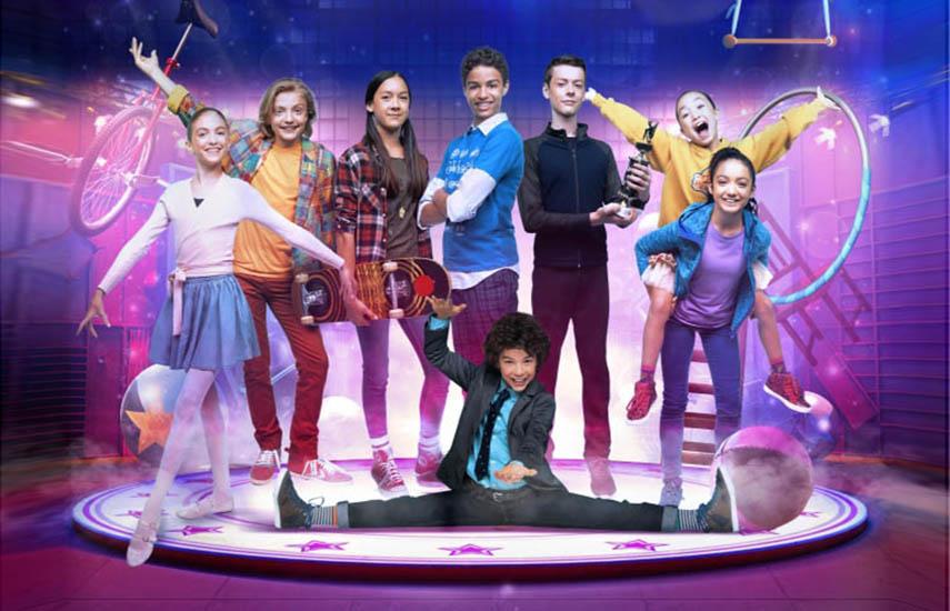 """""""Big Top Academy"""", programa producido por Apartment 11 Productions en asociación con DK y TVOkids, en colaboración con Cirque Du Soleil Images"""
