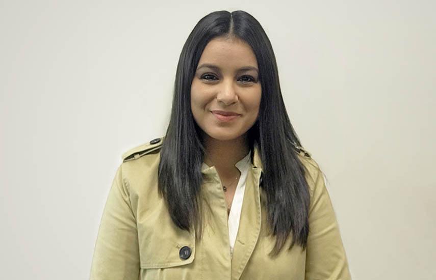 Dulce Ávila, nueva integrante del equipo de ventas internacionales de TV Azteca Internacional.