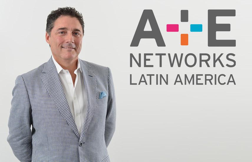 Eddy Ruiz, presidente y gerente general de A+E Networks Latin America.