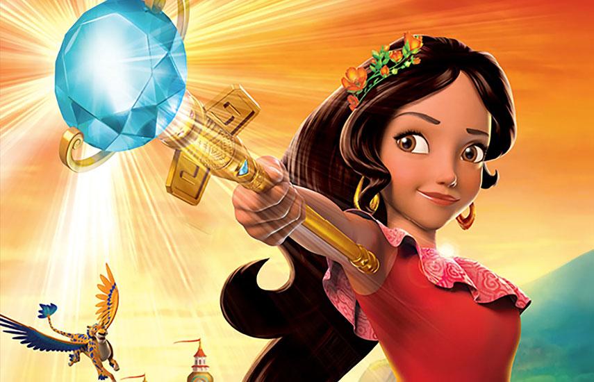 Elena de Avalor, que se estrena este viernes 22 de julio por Disney Channel