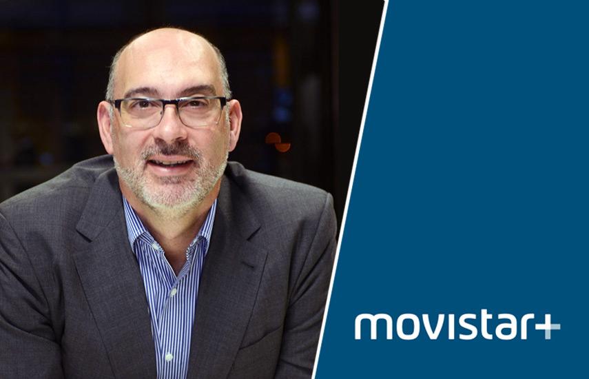 """Emilio Gayo, presidente de Telefónica España: """"Cada vez son más los clientes de paquetes convergentes que disfrutan de la televisión, que roza ya el 80%""""."""