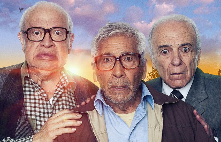 'En el Último Trago', tres amigos octogenarios deciden hacer un último viaje para cumplir el deseo de un amigo en común.