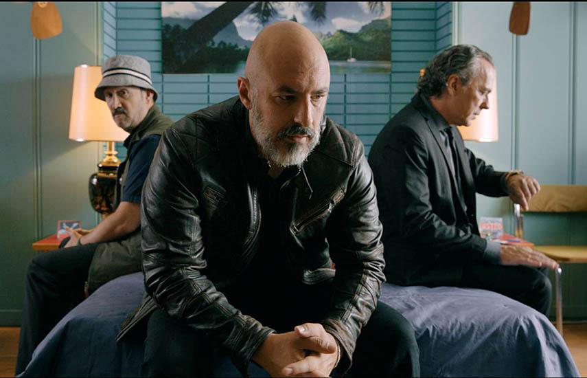 """prot""""Es por tu bien"""" (España) está protagonizada por los grandes actores, José Coronado, Javier Cámara y Roberto Álamo."""