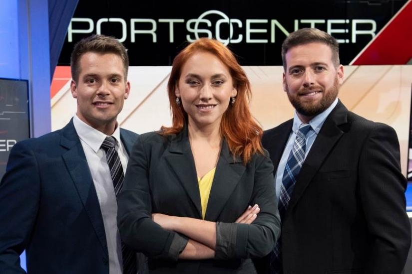 Los conductores chilenos son Grace Lazcano, Pablo Ramos y Claudio Alfaro, apoyados por los reconocidos especialistas de ESPN y un extenso grupo de reporteros que estarán tanto en Santiago como en las principales plazas de interés deportivo para el público local.