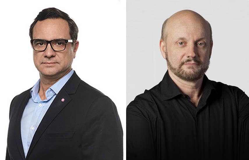 Federico Cuervo, vicepresidente sénior responsable de Viacom International Studios y Juan José Campanella, director y productor argentino.
