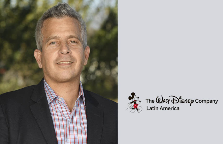 Fernando Barbosa, general manager de Media Networks en The Walt Disney Company Latin America
