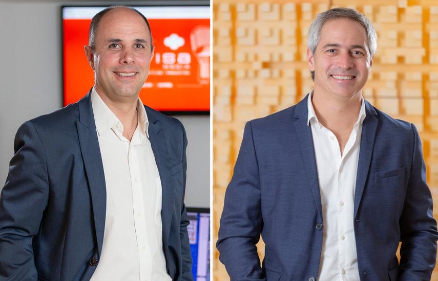 Fernando Darío Zanchetti, nuevo gerente de Administración y Finanzas, y José Luciano Dafunchio, nuevo gerente de Marketing y Ventas.
