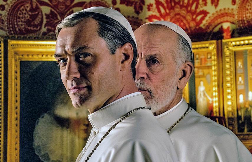 El elenco de The New Pope está liderado nuevamente por Law y suma al talentoso John Malkovich. (Foto: Gianni Fiorit)