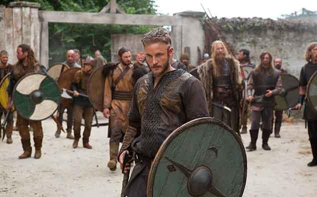 Vikings estrenó en EEUU por History de A+E Networks, en el mes de marzo.