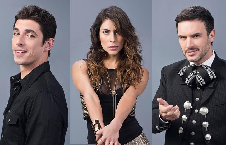 Guerra de Ídolos es protagonizada por un selecto grupo de artistas que actúan, cantan y bailan liderados por María León, Alberto Guerra y Alejandro de la Madrid.