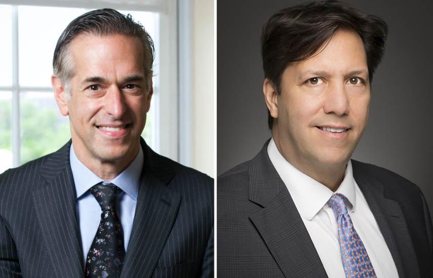 Alan Sokol, presidente y CEO de Hemisphere, y Paul Presburger, CEO de Pantaya.