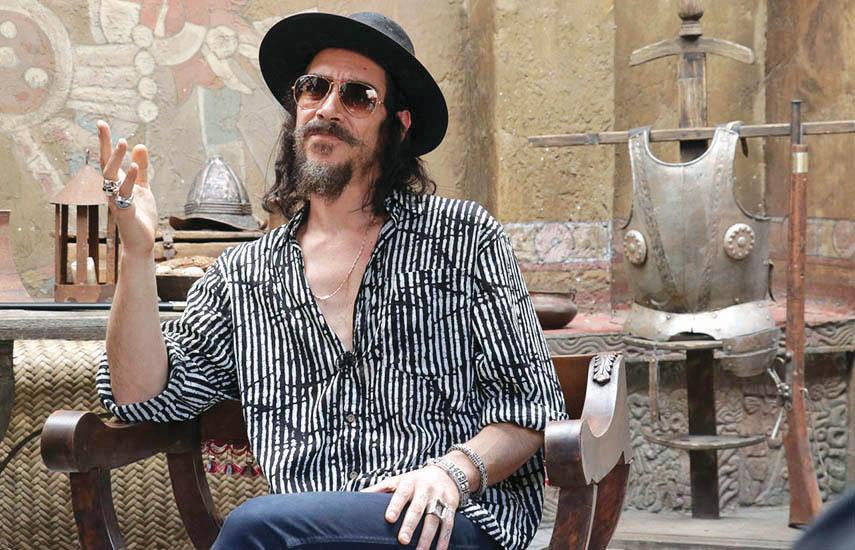 El actor español Óscar Jaenada encarna al personaje central de la historia, Hernán Cortés