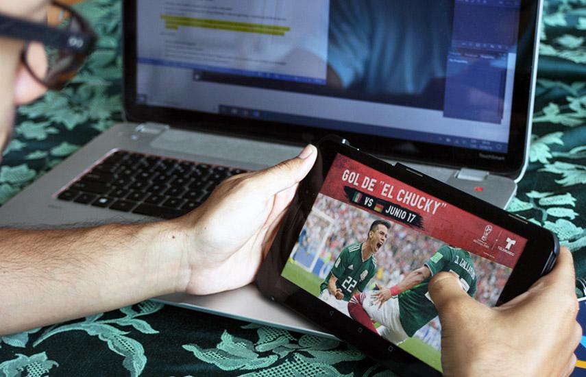 Se espera que la participación de México en esta Copa del Mundo en las lejanas tierras rusas genere cifras récord para Telemundo en transmisión de eventos en vivo.