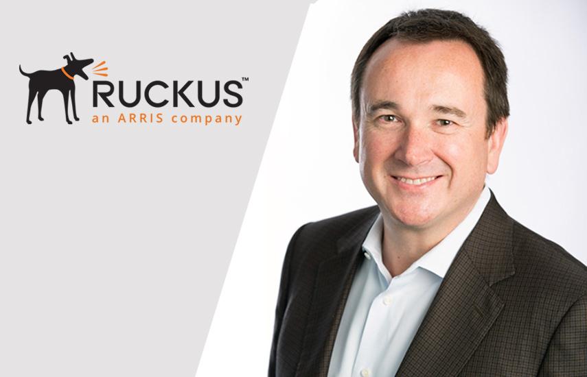 Ian Whiting, nuevo presidente de Ruckus.