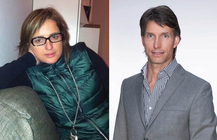 Inna Payán, fundadora de Animal de Luz Films, y Bruce Boren, CEO de THR3 Media Group.