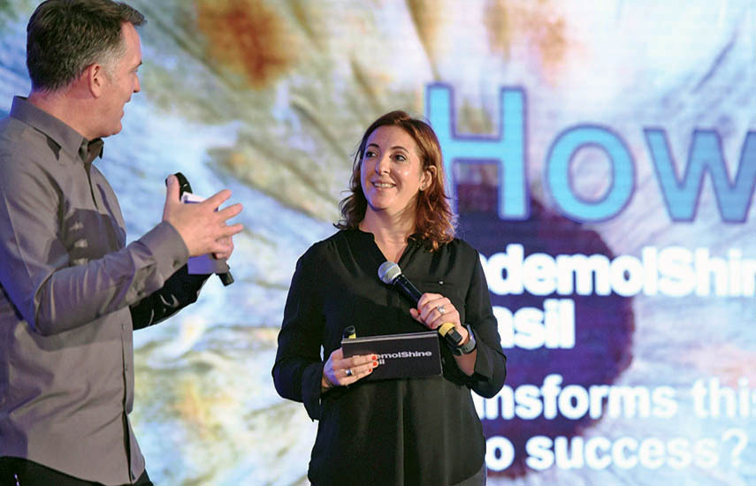 Juliana Algarañaz, CEO de Endemol Shine Brasil.