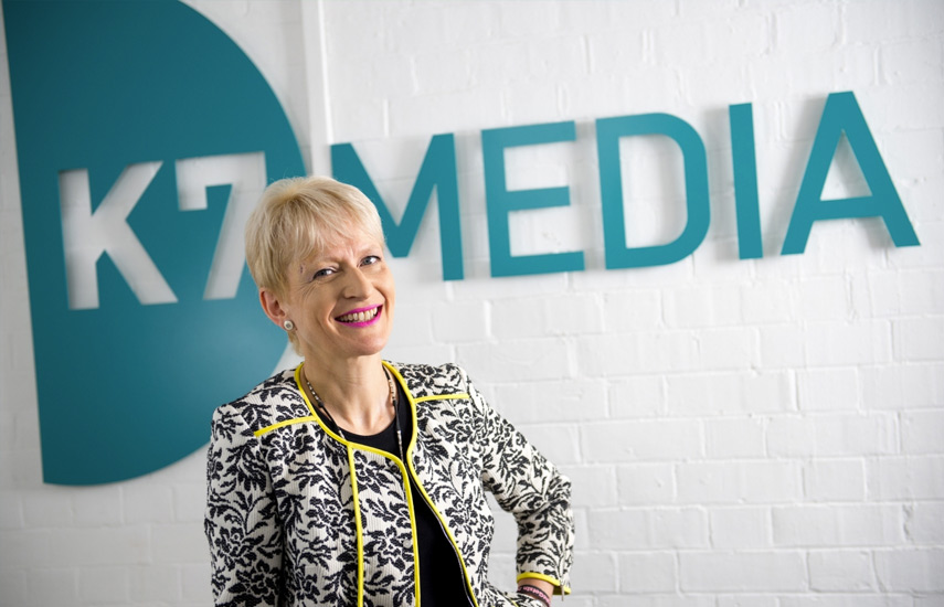 Keri Lewis Brown, directora general de K7 Media