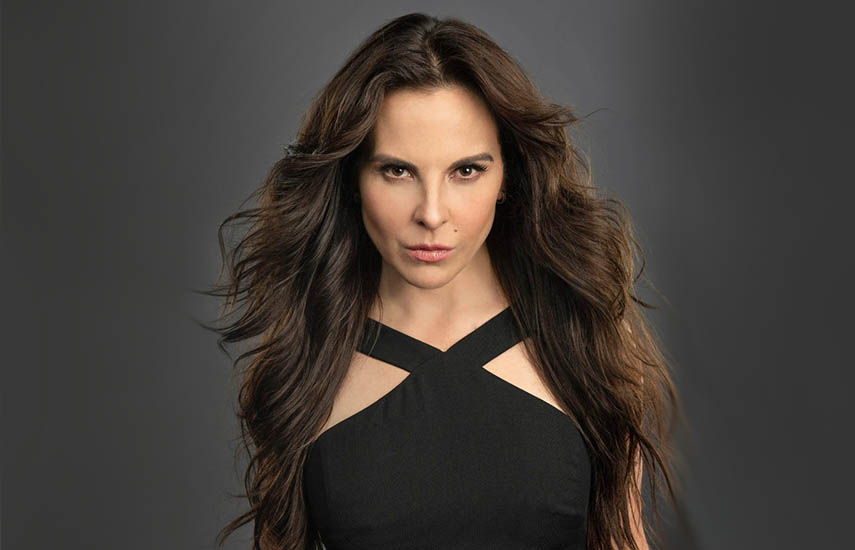 Kate del Castillo,actriz y productora mexicana.