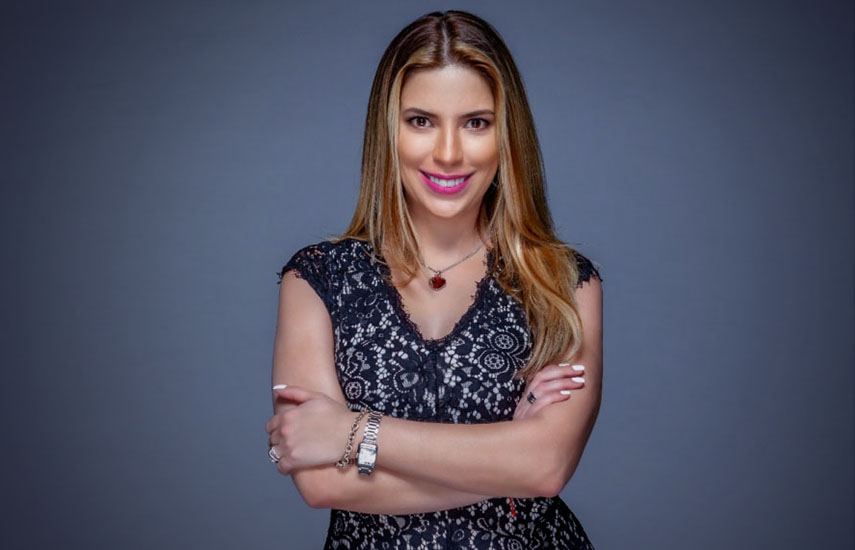 Kimberly Armengol, nueva cara en el noticiero de las 10:30pm de Imagen Televisión