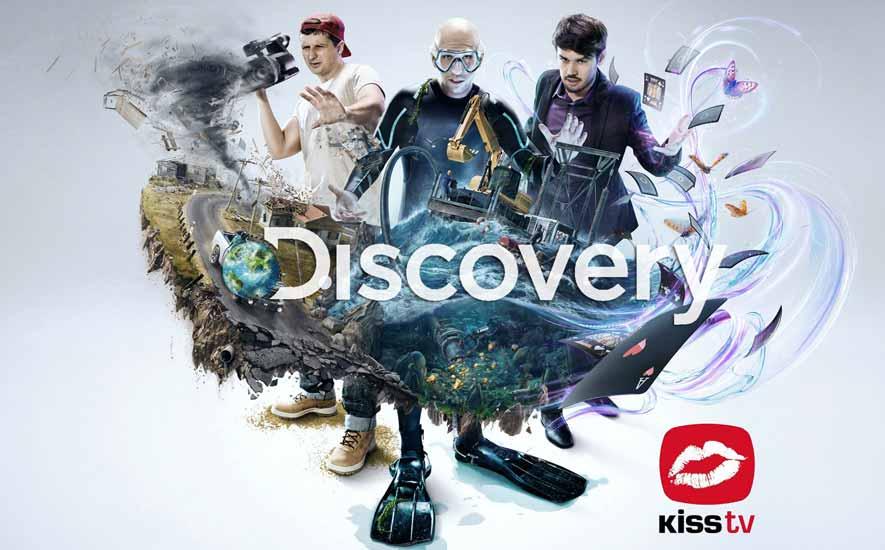 Discovery Networks International será el principal proveedor de contenidos de Kiss Tv