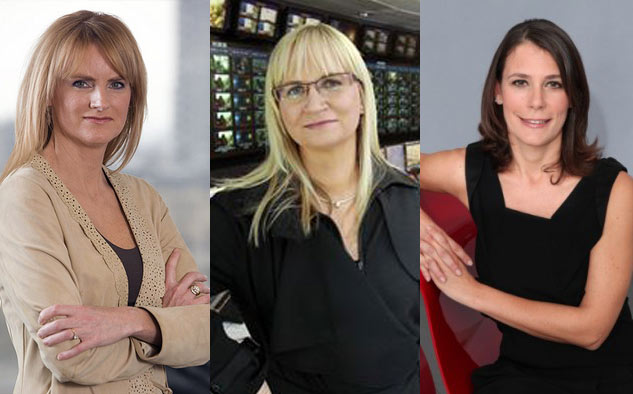 Kasia Kieli, Dee Forbes y Marinella Soldi, asumen responsabilidades clave para el grupo estadounidense.