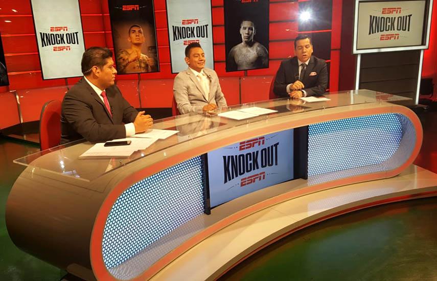 """""""Knock out"""" tendra a Salvador Rodríguez, en los comentarios; el análisis de Cristian Mijares como invitado especial y Renato Bermúdez, en los relatos."""