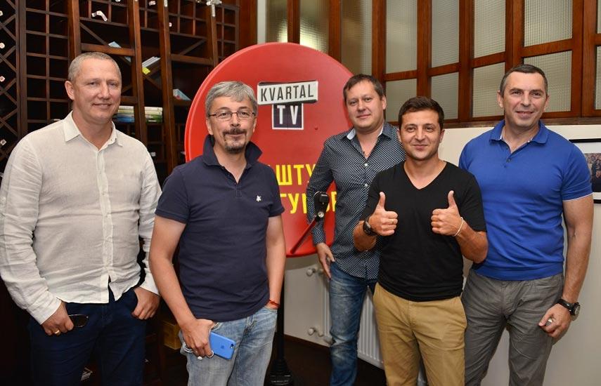 Kvartal TV de Ucrania en marcha desde el pasado 8 de agosto