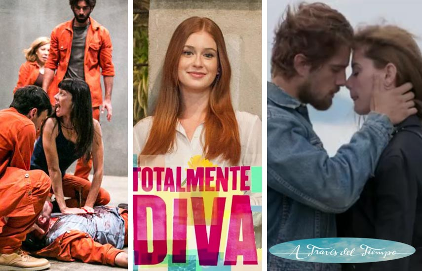 Supermax y las telenovelas Totalmente Diva y A través del Tiempo, como ya lo fueron en la pizarra de MIPTV, vuelven a ser centrales en la oferta para Los Ángeles.