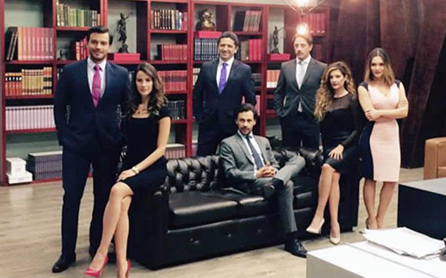 """Nuevo elenco de """"La Ley del Corazón 2"""" (Foto cortesía RCN)"""