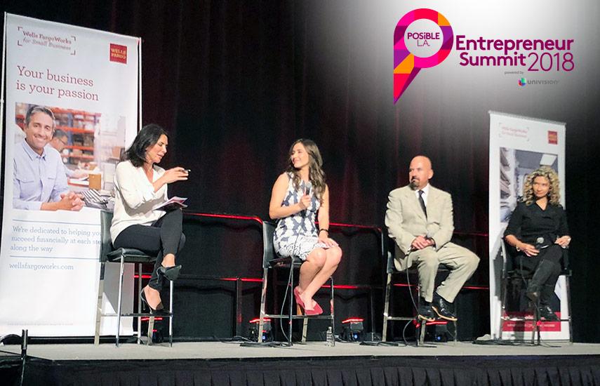 Los participantes accedieron a charlas de destacados empresarios y profesionales que empezaron de cero a planear, financiar, estructurar, lanzar y hacer crecer un negocio. (Foto:@PosibleLA)