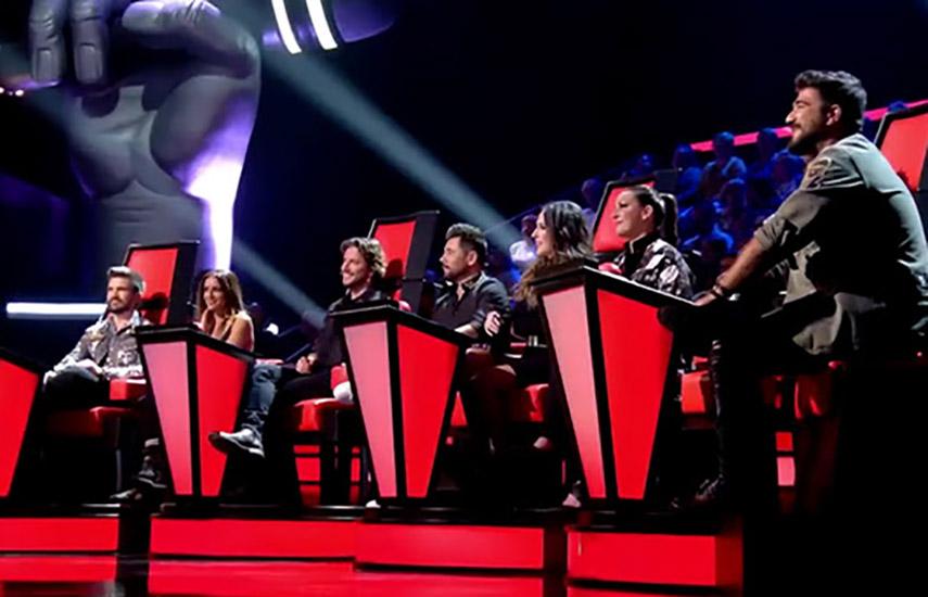 """El talent show musical """"La Voz"""" cuenta con Juanes, Manuel Carrasco, Malú y Pablo López como coaches"""