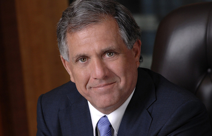 Leslie Moonves, presidente y CEO de CBS Corporation.