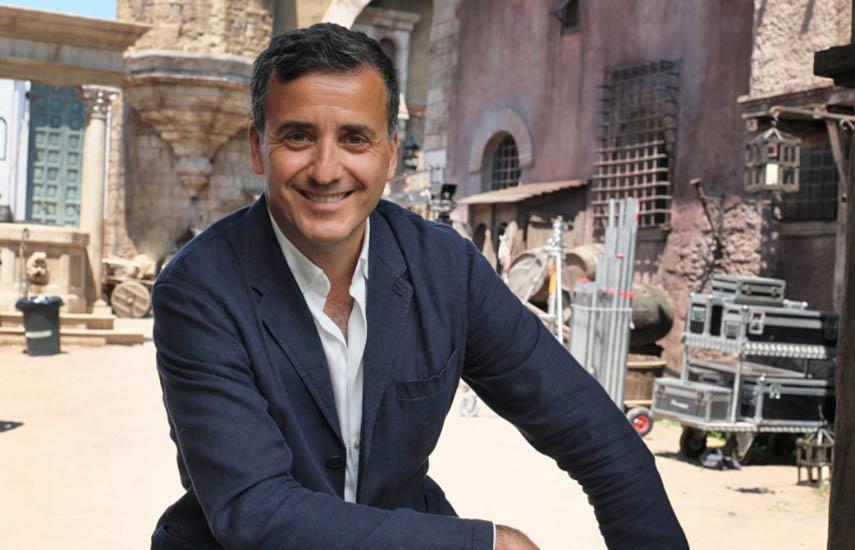 Luca Bernabei, CEO y productor de Lux Vide.