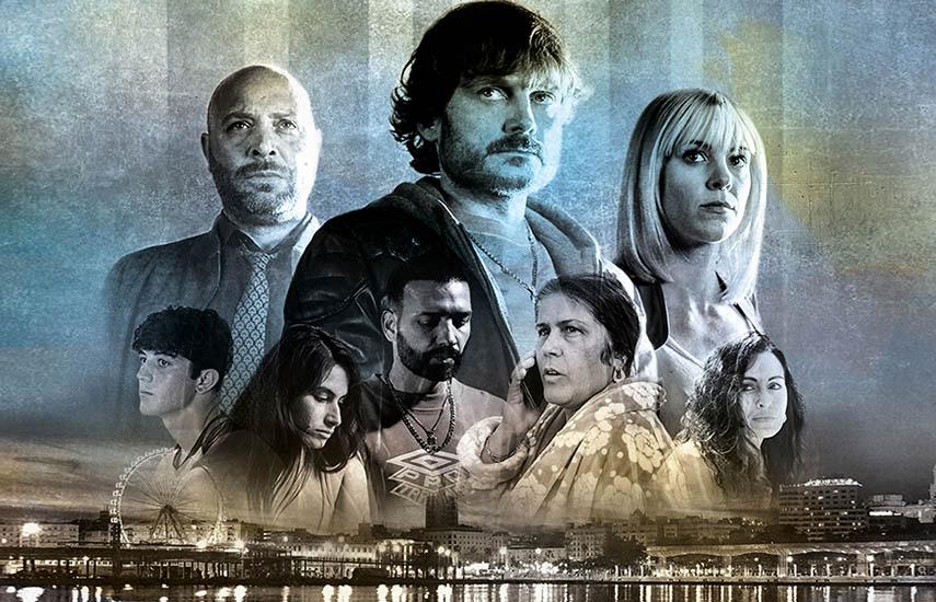 Malaka, el thriller policiaco, actualmente notable éxito de audiencia en España, encabeza el atractivo line-up de ficciones del grupo público español.