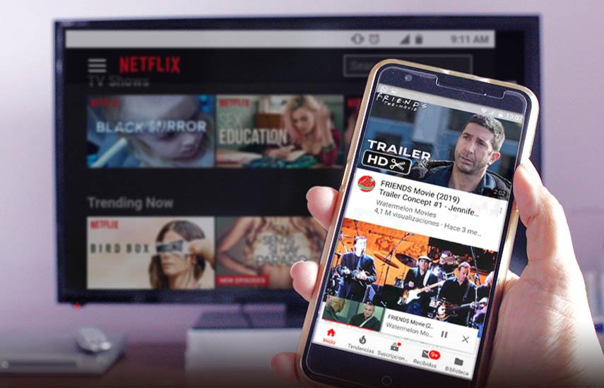 Los crecientes usuarios simultáneos de Internet y televisión, una audiencia que eMarketer estima que ha crecido en 32,3 millones en los últimos cinco años.