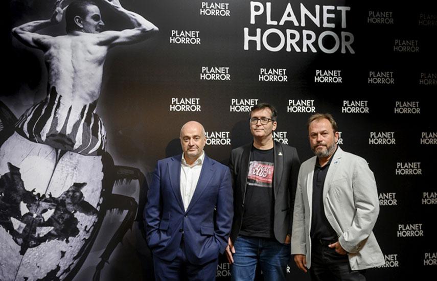 Manuel Balsera, director general de AMCNISE, Angel Sala, Director Sitges Int Fantastic Film Fest. y David Fernández, Chief Executive Officer de Wild Duck.