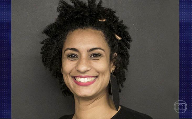 """En la categoría """"Noticia"""" fue nominada la cobertura de la muerte de la concejal Marielle Franco y el conductor del programa, Anderson Gomes."""