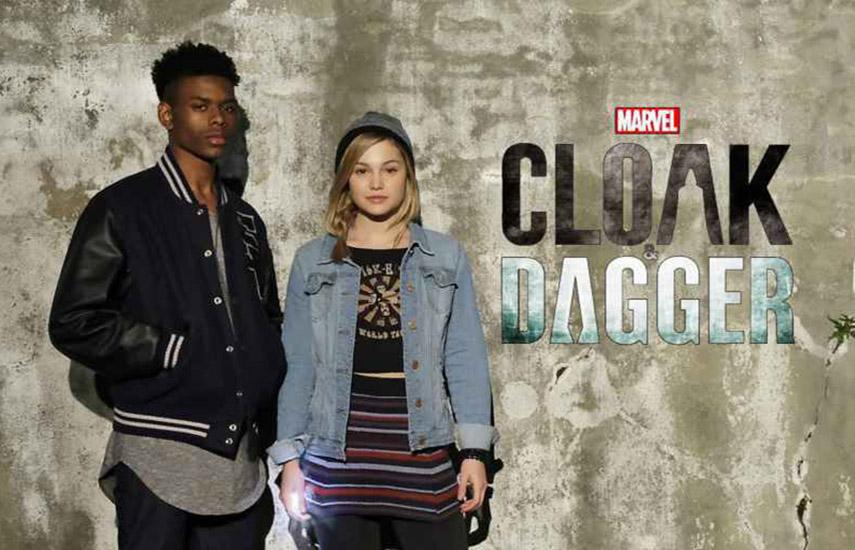 """""""Marvel's Cloak and Dagger"""", firme en el tercer lugar del ranking, su visualización se ha mantenido sólida durante toda la temporada. (Foto: Marvel)"""