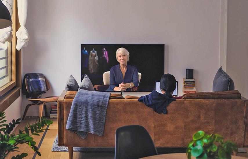 Helen Mirren, actriz inglesa, impartirá sus conocimientos a través de classroom