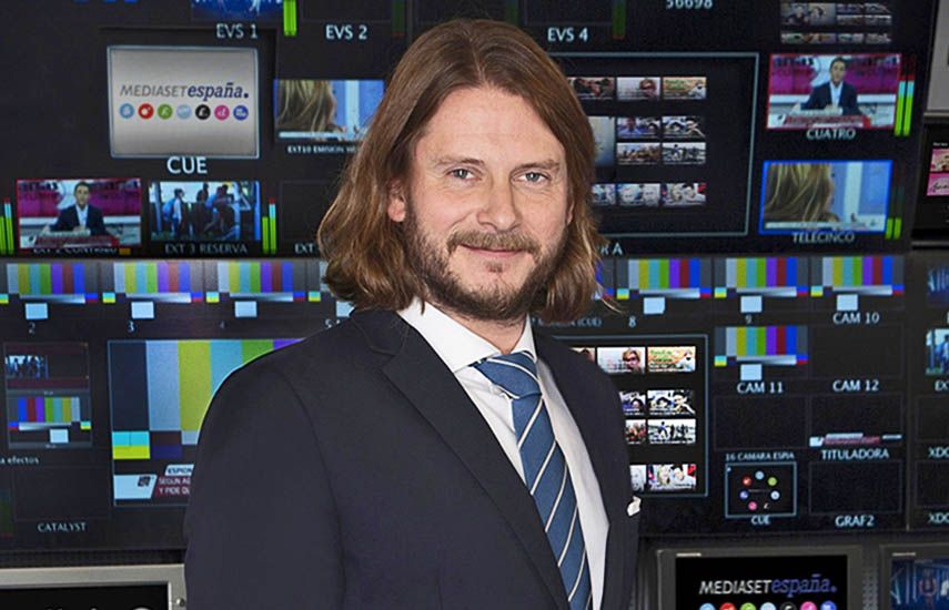 Alfonso Pérez Teijeiro, encabeza la nueva Dirección Comercial de Medios Digitales de Mediaset España.