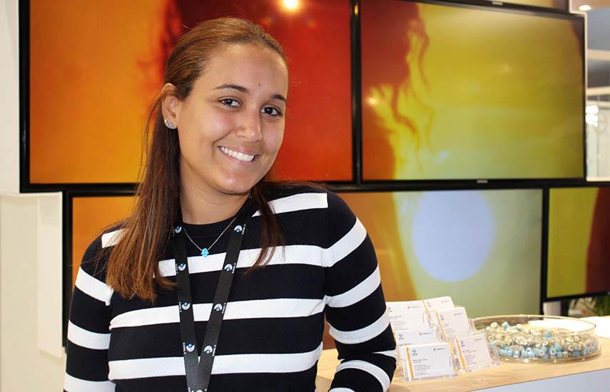Mikaela Pérez, ejecutiva de ventas de Kanal D para Latinoamérica.