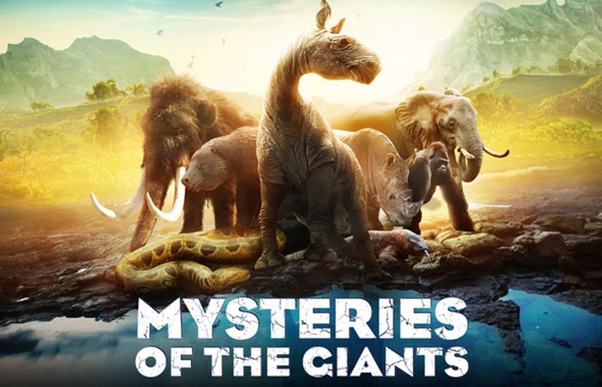 'Mysteries of the giants' (6x52') fue presentado en la última conferencia 4K de MIPCOM a una audiencia de especialistas, promoviendo sus ambiciones Ultra HD.